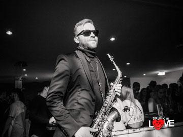 Saxophon mit DJ für Hochzeit, Geburtstag, Party