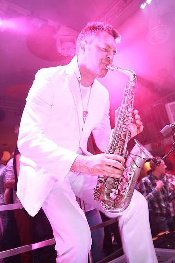 Fotograf: Christiane Krämer - Saxophonist Eike