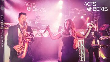 DJ Saxophon Sängerin für Firmenfeier in NRW
