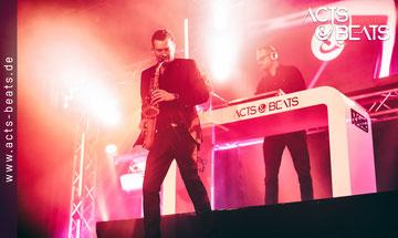 Saxophon und DJ Konzept für Event in NRW