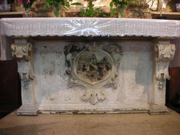 Altare dell'ex Carmelo di Fasano