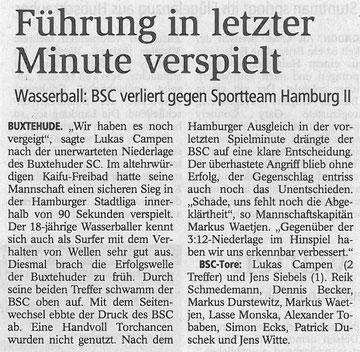 Buxtehuder Tageblatt vom 25.05.2012