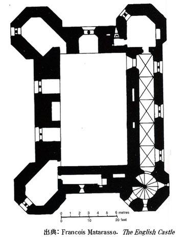 Tattershall Castle Floor Plan