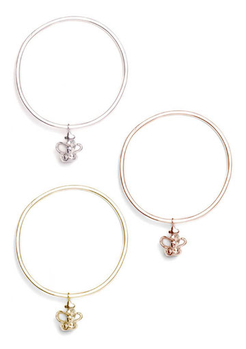 Crown Charm Bangles Emma Hedley Jewellery You are the ruler of your world