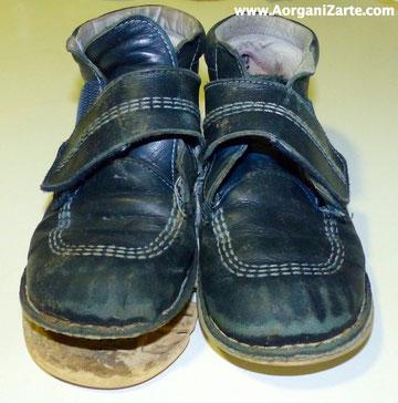 Los zapatos viejos tiralos. No los guardes - www.AorganiZarte.com