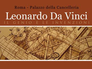 """OmoGirando la Mostra """"Leonardo da Vinci: il genio e le invenzioni"""""""