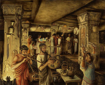 Cerimonia Funebre a Cerveteri