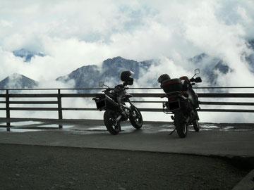 Motorradurlaub Alpen (Herbst 2010)