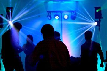 Hochzeitsparty Musik inkl. Beleuchtung