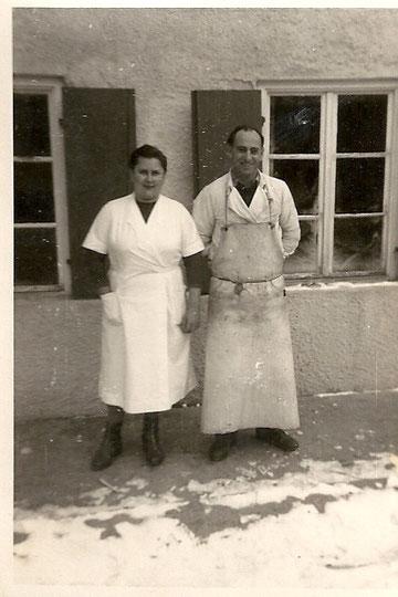 Elli und Josef Frühmorgen  Dezember 1963