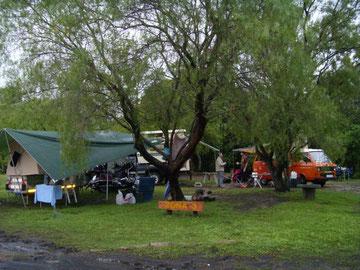 Unser Camp im El Palmar