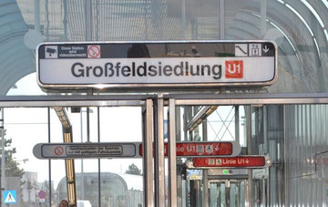 UBahnstation Großfeldsiedlung