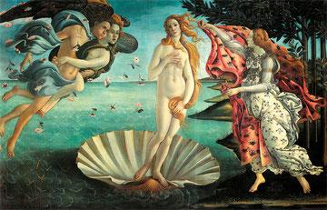 Са́ндро Боттиче́лли (Sandro Botticelli) - «Рождение Венеры» (Nascita di Venere)