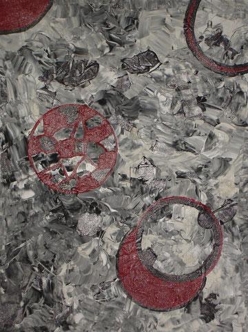 """new universe"", Acrylic on canvas, 80 x 60 cm, price and availability on request,""Neues Universum""             Acryl auf Leinwand             80 x 60 cm             Preis und Verfügbarkeit auf Anfrage"