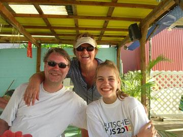 Ole, Ute & Nele vom 22.3. - 1.4.2013, Franz. Antillen/Karibik