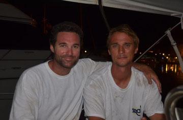 Cedrik und Alex, Marina Bas du Fort / Guadeloupe, Mai 2013