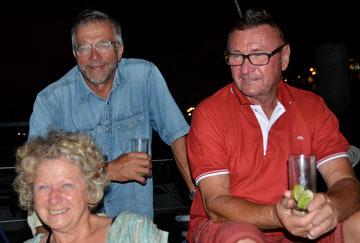 Wolfgang, Otto und Marit / Madelaine (D), Fortaleza / Brasilien, 27. September 2012