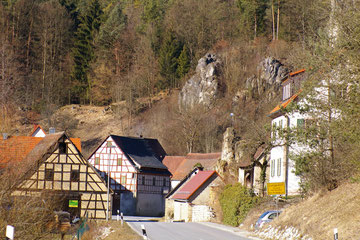 Die Ortschaft Velden