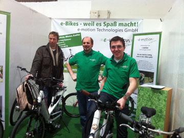 ABF Hannover mit e-motion eBike Experten