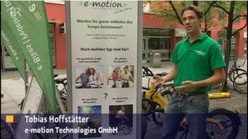 Bayerisches Fernsehen Elektrorad Beitrag e-motion Technologies