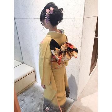 横浜 元町 石川町 美容室 ヘアメイク 着付け ヘアセット ヘアアレンジ