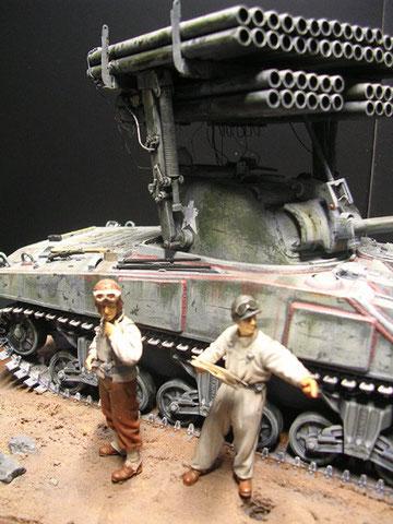 US-Panzersoldaten von Alpine