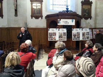 Visite de l'orgue de l'église St-Sauveur de La Rochelle le 12 janvier 2016