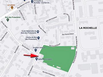 Plan salle du vélodrome LR
