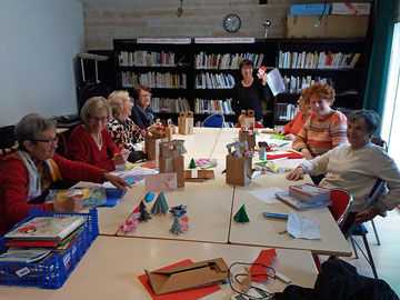 Atelier origami le 11-12-2019