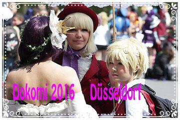 Anime und Manga Messe in Düsseldorf die DoKomi