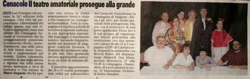 Il Giornale di Lecco. 14 marzo 2011