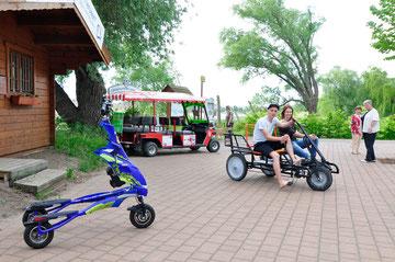 E-Trikke, City-Mobil und Powerbike!
