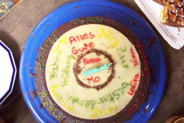 Mein Fahrabzeichen bestanden Kuchen
