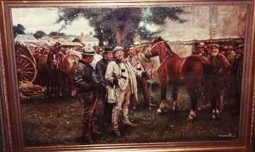 "Copy - Munnings - ""The Horse Fair"""