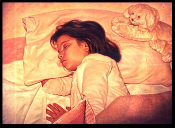 Sleeping Child - My AIRBRUSH Painting