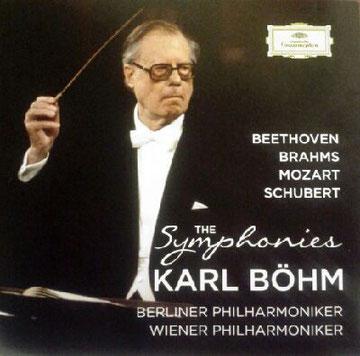 La copertina del cofanetto DG dedicato a Karl Bohm