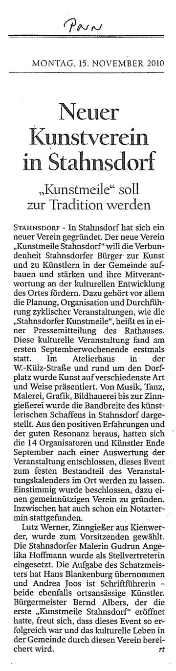 Potsdamer Neueste Nachrichten, 15.11.2010