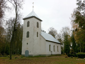 Die Kirche Priedula zu Waddax