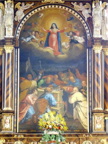 Hochaltarbild Maria Himmelfahrt, Gügelkirche