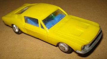 Ford Mustang de Eldon.