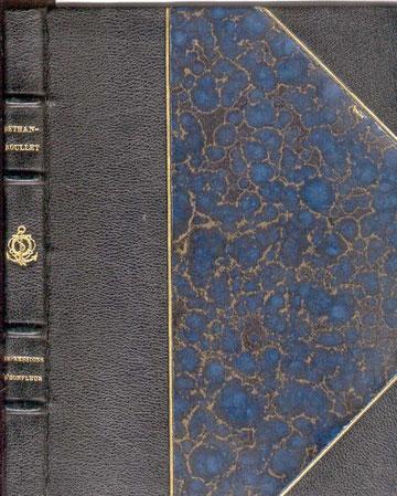 Impressions d'Honfleur. Edition originale, demi reliure cuir, numérottée. Exemplaire N° 2.