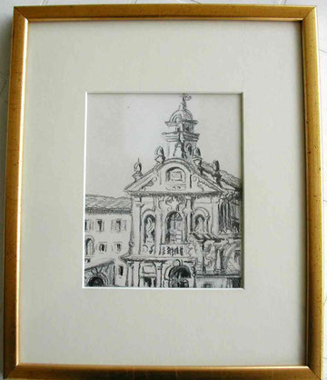 Eglise de Rome en 1929.