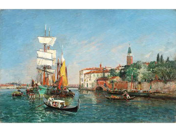 Vue de Venise.