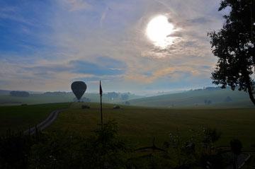 ©2015 October | ballon landing in front our farm