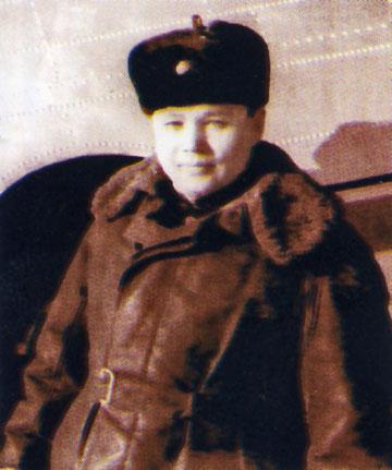 Командир Нижнеколымского ОАО В.И. Кузмин. 1964 год.