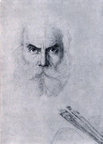 автопортрет художника Попова