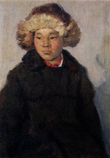 художник Лукин. Портрет мальчика