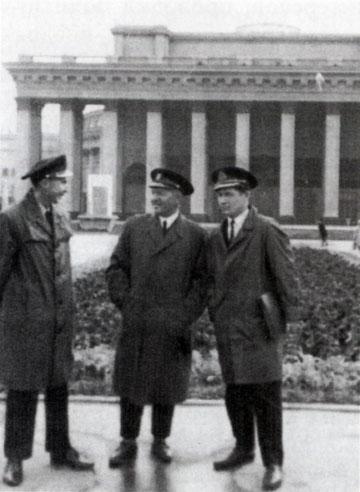 И.А. Водопьянов, И.А. Дмитриев, Ю.В. Кайдышев. Москва, 1972 год