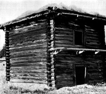 Крепостной амбар Якутского острога