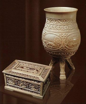 якутская резьба по кости